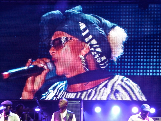 Marcia Griffiths (NNPA Photo by Dwight Brown)