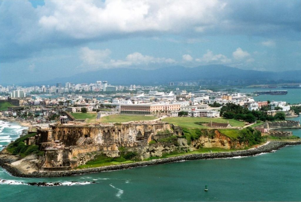 Old San Juan in Puerto Rico (Courtesy of Wikipedia)