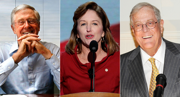 The Koch-backed group AFP fills a critical void nine months out from Election Day. | AP Photos