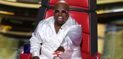 "The Voice"" judge CeeLo Green on the Sept. 17, 2012 episode of the show. Green says he won't be returning to the show. (Credit: NBC)"