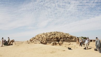 Photo of 4,600-Year-Old Step Pyramid Uncovered in Egypt