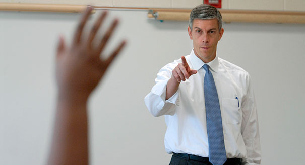 Secretary of Education Arne Duncan (AP Photo)