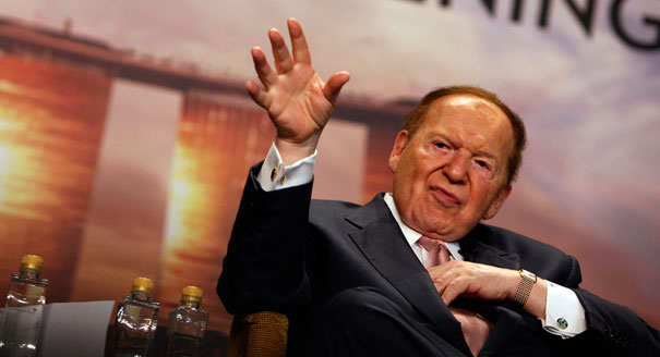 Sands CEO Sheldon Adelson (AP Photo)