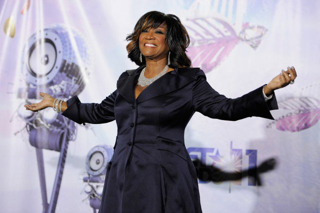 This June 26, 2011 photo shows singer Patti LaBelle poses backstage at the BET Awards in Los Angeles. (AP Photo/Chris Pizzello, File)