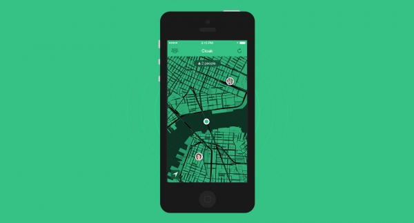 A new app for iPhone named Cloak will make it possible for users to track the location of family and friends not necessarily to find them but to avoid them. (Photo: Cloak/Website)