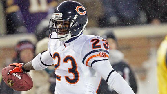 Chicago Bears cornerback/kick returner Devin Hester (AP Photo/Andy King)