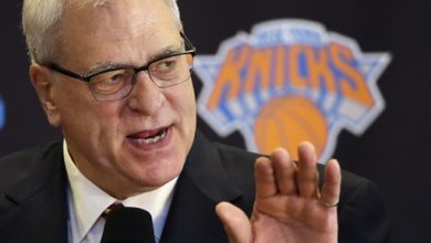 Photo of Jackson Seeking Knicks Coach, Says it Won't be Him