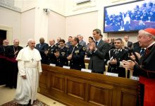Photo of Pope Meets Ex-Sex Slaves, Denounces Trafficking