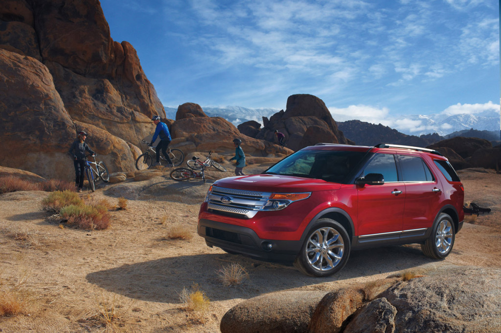 The 2014 Ford Explorer builds on its heritage as the full-size SUV leader with outstanding capability, convenience and comfort. Key advancements introduced on Ford Explorer Sport, new for the 2013 model year, now are available on the 2014 Ford Explorer.