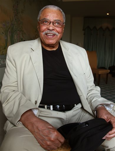 This Jan. 7, 2013 file photo shows actor James Earl Jones in Sydney, Australia. Jones is coming back to Broadway in a play that's almost as old as he is. (AP Photo/Rick Rycroft, File)