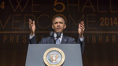 Photo of Obama to Focus Civil Rights Message on Voting