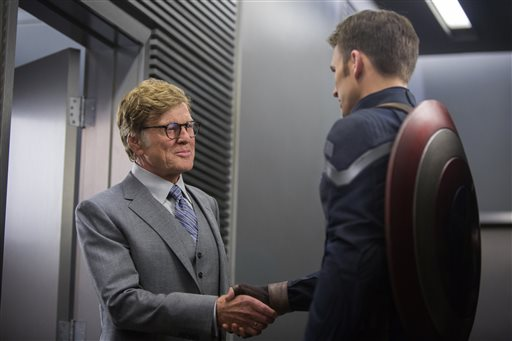 """LOS ANGELES (AP) — Disney and Marvel could be one of the finest teams around. Continuing the success of their superhero franchise, """"Captain America: The Winter Soldier"""" has set a record as the biggest domestic April release ever."""