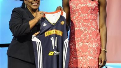 Photo of Sun Take Ogwumike with Top Pick in WNBA Draft