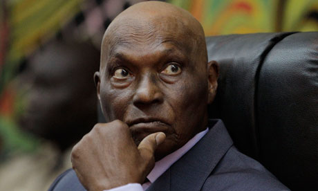Abdoulaye Wade, the former president of Senegal (Rebecca Blackwell/AP)