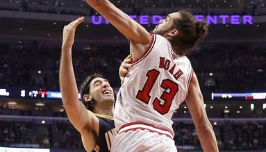 Photo of Bulls' Noah the Defensive Player of the Year