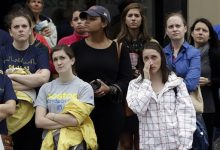 Photo of Solemn Tributes Mark Boston Marathon Bombing