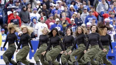 Photo of Buffalo Bills Cheerleaders Suspend Operations