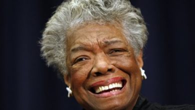 Photo of Angelou Out of Baseball Event Because of Health