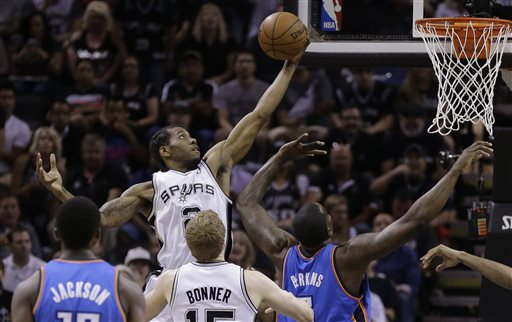 Photo of Spurs Rout Thunder to Take 3-2 Lead in West Finals