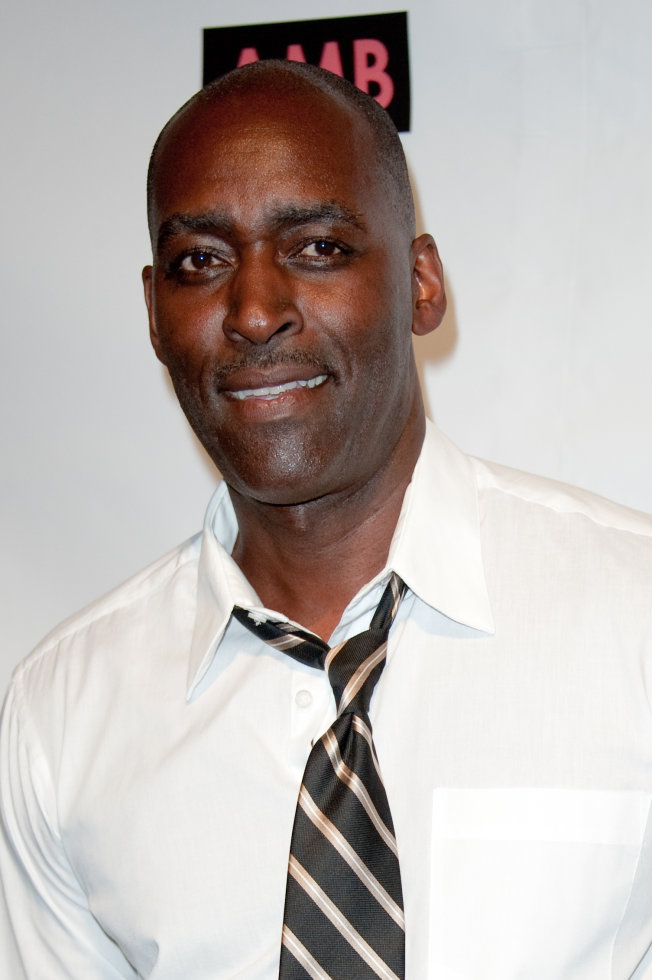 Michael Jace attends WordTheatre presents Storytales at Ford Amphitheatre on Saturday, Oct, 6, 2012, in Los Angeles, California. Jace was arrested Tuesday after his wife was found shot dead in their home. (AP Photo)