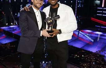 Photo of Usher Nabs First 'Voice' Victory with Josh Kaufman