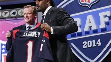 Photo of NFL DRAFT: Texans Pick Clowney; Manziel to Browns