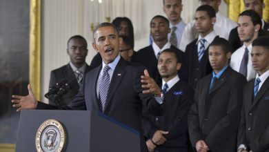 Photo of Obama Finds a Bolder Voice on Race Issues