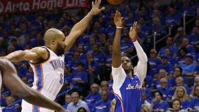 Photo of Paul Scores 32; Clippers Roll Past Thunder 122-105