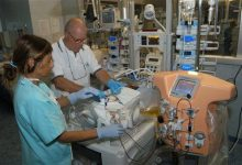 Photo of Doctors Design Mini Dialysis Machine for Babies