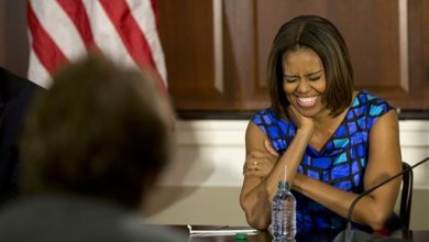 Photo of First Lady Responds to School Meal Critics