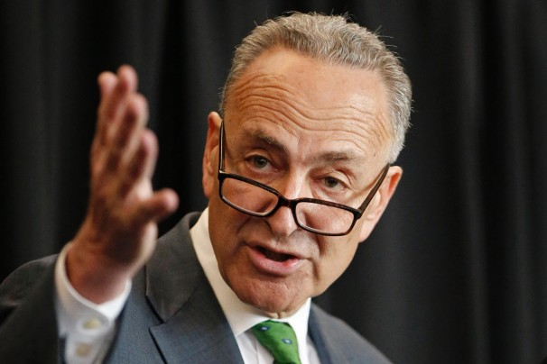 At the request of Sen. Charles E. Schumer (D-N.Y.), the provision was tucked into a larger bill aimed at renewing an array of expired tax breaks. (Kathy Willens/AP)