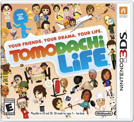 "This photo provided by Nintendo shows the cover of the video game, ""Tomodachi Life."" Nintendo is apologizing and pledging to be more inclusive after being criticized for not recognizing same-sex relationships in English editions of the life-simulator video game. (AP Photo/Nintendo)"