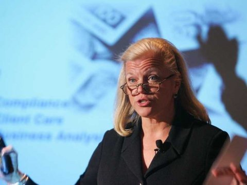 IBM CEO Ginny Rometty (AP Photo)