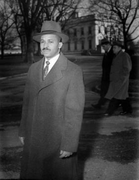 Harry McAlpin, the first Black reporter to attend a presidential press conference. (Courtesy Photo/Afro-American Newspaper)