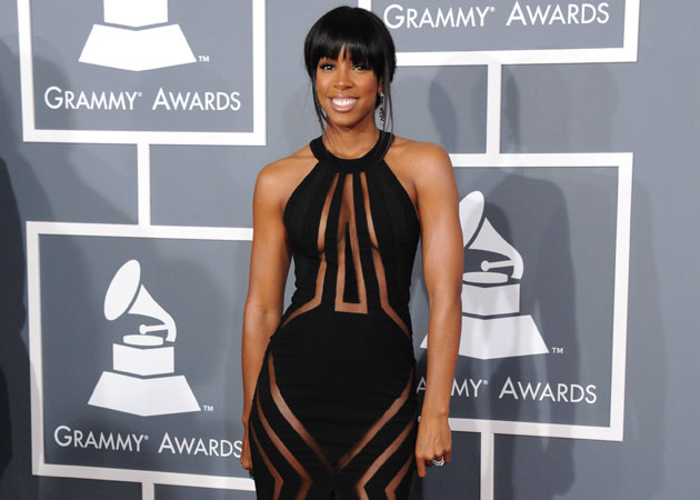 Kelly Rowland at the Grammy Awards (AP Photo)