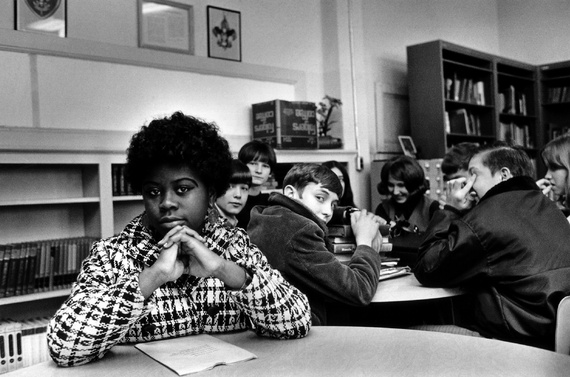 Linda Brown was a third grader when her father started a class-action suit in 1951 of the Brown v. Board of Education of Topeka, Kansas. (AP Photo)