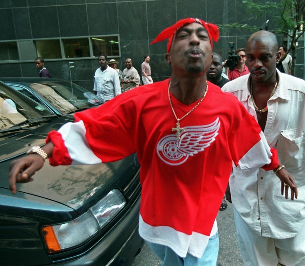 Tupac Shakur (Bebeto Matthews/AP)