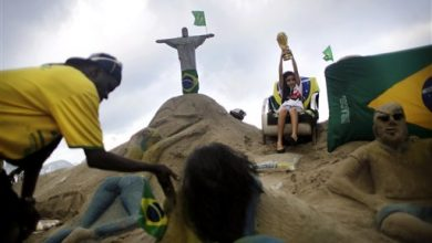 Photo of World Cup Fervor Begins Winning Out Over Opposition in Brazil as Tournament Begins