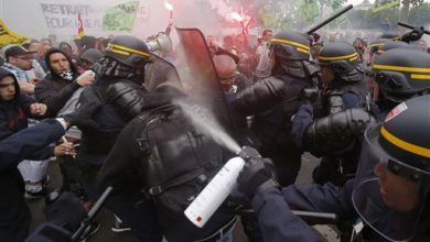 Photo of Tear Gas, Clashes: France Fed Up with Train Strike