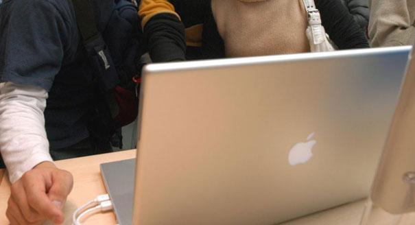 An Apple laptop (AP Photo)
