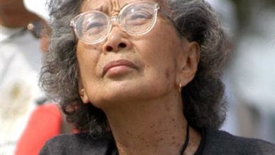 Photo of Civil Rights Activist Yuri Kochiyama Dies at 93