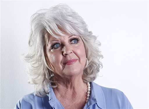 In this Jan. 17, 2012 file photo, celebrity chef Paula Deen poses for a portrait in New York. Paula Deen Ventures, a new company formed to help launch a comeback for Deen, on Wednesday, June 11, 2014, announced plans for the creation of the Paula Deen Network. The paid subscription-based network is set to launch in September and will be accessible by computer, smartphone or tablet. (AP Photo/Carlo Allegri, File)