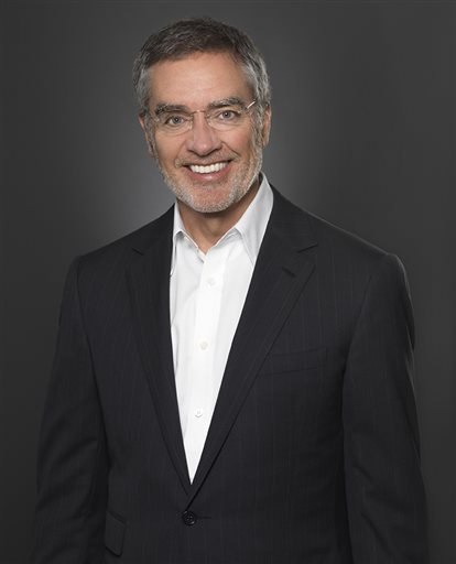 "This undated photo provided by Clear Channel shows company CEO Bob Pittman. Pittman says online streaming service iHeartRadio makes ""hundreds of millions"" of dollars in annual revenue, putting it in the ballpark of Internet radio leader Pandora, which posted $638 million in revenue last year. (AP Photo/Clear Channel)"