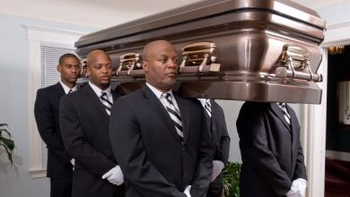 Photo of Professional Pallbearers Dance, March Casket to the Grave