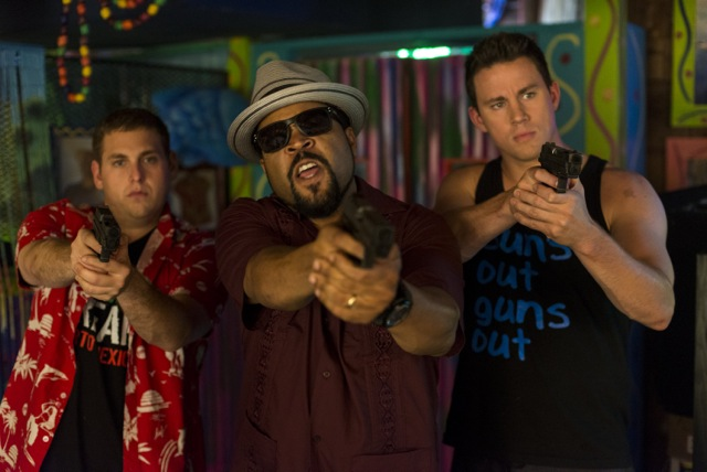 "Jonah Hill, Ice Cube and Channing Tatum star in comedy cop film ""22 Jump Street."""