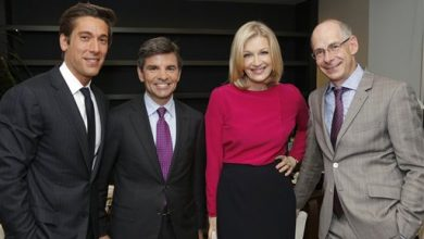 Photo of Diane Sawyer Steps Down as ABC News Anchor; Muir, Stephanopoulos Take New Roles