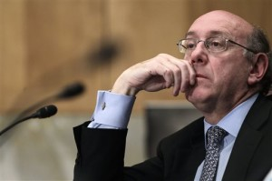 Kenneth Feinberg, administrator of Gulf Coast Claims Facility, testifies before the Disaster Recovery Subcommittee of the Senate Homeland Security and Governmental Affairs Committee.
