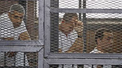 Photo of Outcry After Egypt Sentences 3 Reporters to Prison