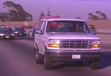 Photo of O.J. Simpson's White Ford Bronco Now for Rent