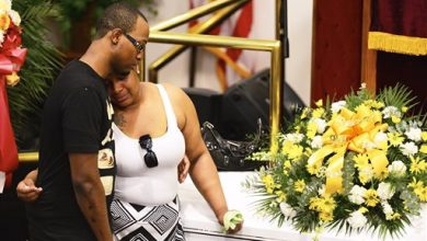 Photo of Funeral Held for Man Who Died in NY Police Custody